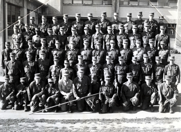 1958, Fort Ord, HHC, 11th Battle Group, 3rd Brigade