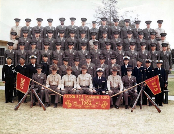 1962, MCRD San Diego, Platoon 375