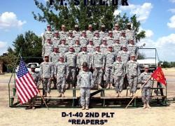 2011, Fort Sill, D-1-40, 2nd<br />Platoon